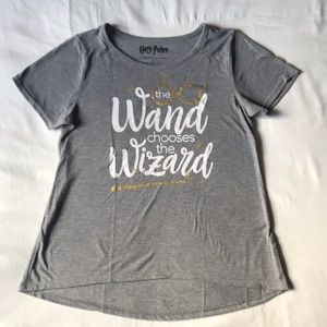 Harry Potter the Wand chooses the Wizard tee